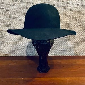 🌟HP🌟Boho Black Wool Floppy Hat H&M L 58